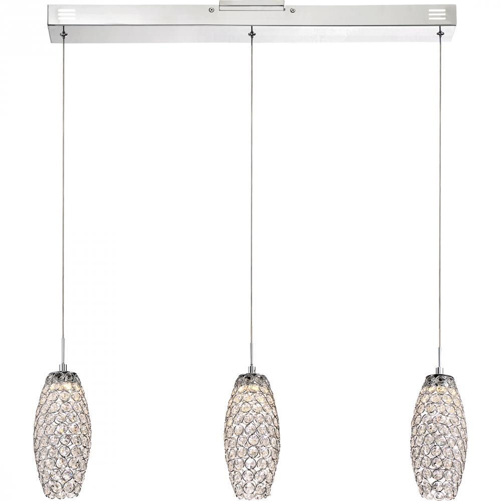 Platinum Collection Infinity Island Chandelier