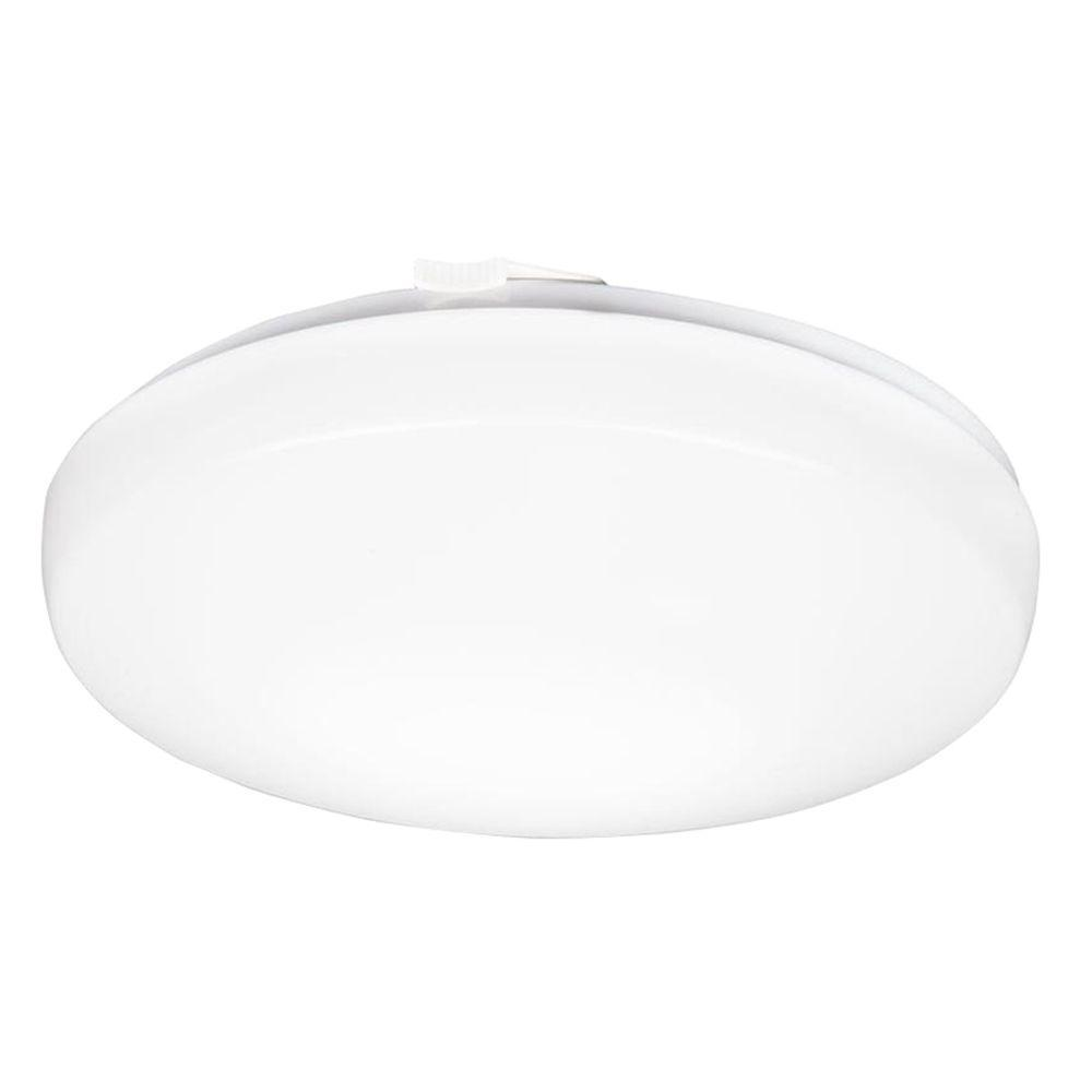 14 in. Low Profile Round 3000K LED Flush Mount