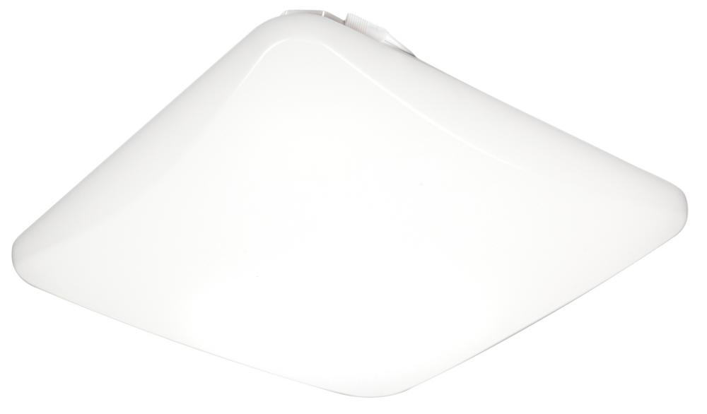 11 in. Low Profile Square 3000K LED Flush Mount